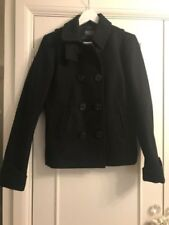 Wool Peacoat Double Breasted Coats & Jackets for Women
