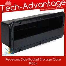 BN Black Boat/Caravan ABS Side Mounted Plastic Recessed Pocket Box 415mm x 167mm