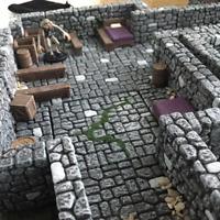 DungeonScapes Dungeon Terrain 38 Piece Set