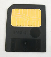 2MB 5 VOLT SMARTMEDIA MEMORY CARD SMART MEDIA 5V ROLAND SP202 XP30 MC505 JX305