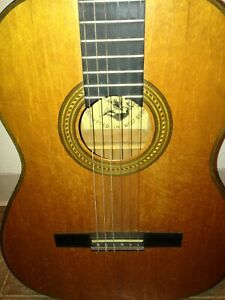 Karl Hauser vintage Classical Guitar, West Germany, model 710,