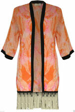 Unbranded Floral Hip Length Casual Coats & Jackets for Women