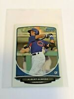 2013 Bowman Chrome Mini Baseball - Albert Almora - Chicago Cubs