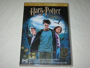 Harry Potter And The Prisoner Of Azkaban - Brand New & Sealed - Region 4 - DVD