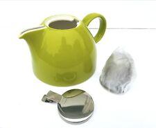 Tea Forte PUGG Ceramic Teapot Loose Leaf Brew Steep infuser Pistachio Green