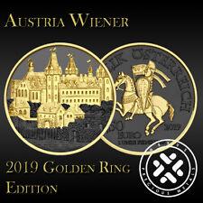 Austria 2019 Wiener Neustadt Silver 999 1oz Golden Ring Edition