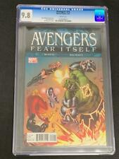 AVENGERS #15, (2011) CGC 9.8, Marvel Comics, White Pages