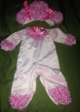 Childs Size 4 Pink Poodle Costume By In Character Costumes EUC