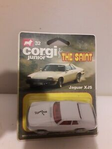 Corgi Junior 32 the saint On Card