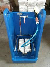 Wheelwash Industrial Bootwash Boot Cleaning & Disinfecting Station - New in box!