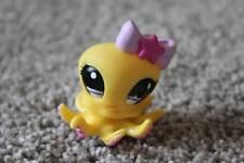 Littlest Pet Shop Yellow Octopus #1146 LPS Girls Toy Ocean Animal Purple Eyes