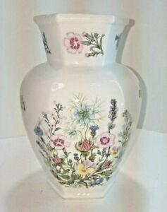 **VINTAGE Aynsley EST. 1775 |WILD TUDOR Porcelain Vase Flowers - Made in England