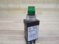 Allen Bradley 800T-PST16 Pilot Light 800T-PST16G Green/Series N