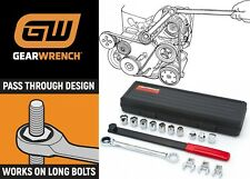 Gearwrench 3680 15 Piece Ratcheting Serpentine Belt Tool Set New Free Shipping