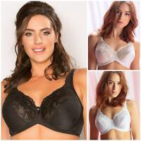 Pour Moi Jacquard Full Cup Bra 3818 Womens Underwired Bras New Lingerie