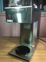 Mr Coffee 12-Cup Commercial Coffee Brewer MRCTB Stainless Steel 2 Warmers NICE!