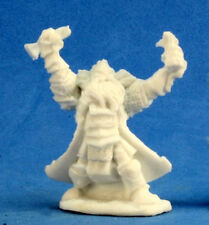 1 x THAIN GRIMTHORN - BONES REAPER figurine miniature jdr rpg cleric dwarf 77213
