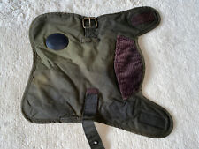 Barbour Wax Cotton Dog Coat/ Jacket  - Size X  Small. Olive Tartan Lining