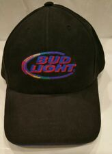 Bud Light Adjustable Hat Cap Strapback Black 2003 Anheuser-Busch Be Yourself a25debee7bbe