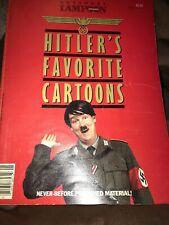 National Lampoon Presents Hitler's Favorite Cartoons Vintage Soft Cover 1982