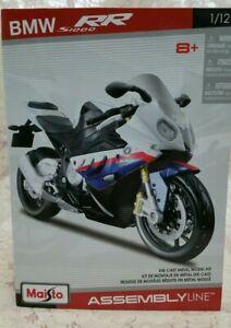 Maisto 1:12 BMW S1000RR assembly line Model Motorcycles bike