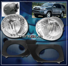 2006 2007 2008 2009 TOYOTA 4RUNNER SPORT SR5 JDM BUMPER CHROME FOG LIGHTS+SWITCH