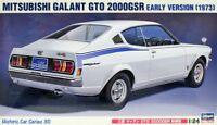 Hasegawa HC-30 1/24 Scale Model Car Kit Mitsubishi Galant GTO 2000GSR Early Ver.