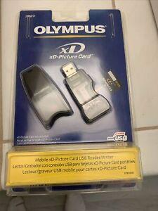 VTG Olympus Mobile xd-Picture Card USB Reader/Writer MAUSB-100 NIP 2003