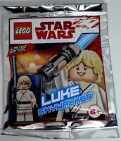 ORIGINAL LEGO STAR WARS LIMITED EDITION LUKE SKYWALKER 911943 Foil Pack
