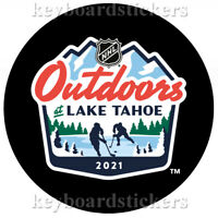 2021 NHL Outdoors at Lake Tahoe February 20 - 21 Souvenir Hockey Puck - NEW