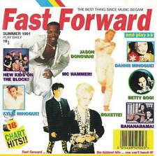 FAST FORWARD - KYLIE MINOGUE / JASON DONOVAN / BOMBALURINA ETC.- CD