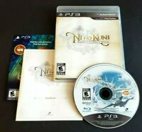 Ni No Kuni - Wrath of the White Witch (Sony Playstation 3, 2013) PS3 CIB