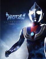 Blu-ray Complete BOX Ultraman Tiga Region Free TSUBURAYA TOKUSATSU F/S w/Track#