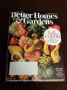Better Homes & Gardens October 2018 Magazine