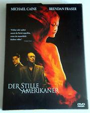 Der stille Amerikaner (2002) Michael Caine, Brendan Fraser, DVD & CD, gebr.