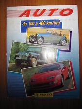 ALBUM FIGURINE AUTO DA 100 a 400 km/ora -  ed. Panini 1991 - quasi completo