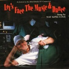 "NAT KING COLE let's face the music and dance EM 312 uk emi 1994 7"" PS EX/VG"