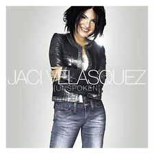 JACI VELASQUEZ-UNSPOKEN-CD-Jesus Is, You're My God, Where I Belong-Library Copy