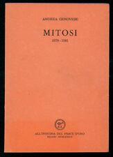 GENOVESE ANDREA MITOSI 1979 - 1981 ALL'INSEGNA DEL PESCE D'ORO 1983 ACQUARIO 134