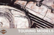 2012 HARLEY-DAVIDSON TOURING OWNERS MANUAL KIT-NEW SEALED-FLTRU-FLHR-FLHT-FLHTCU