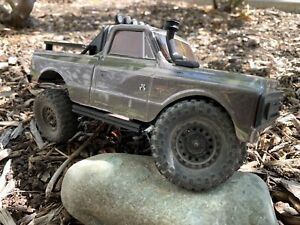 Weighted Axial SCX24 Jeep JLU and C10 Rock Sliders 14 Grams Double Tube