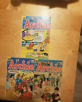 ARCHIE #180 184 188 Archie Series 1968 Betty and Veronica Jughead Silver Age