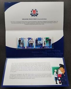 [SJ] Singapore Police Force 2003 Ship Motorcycle Uniform (p.pack MNH *see scan
