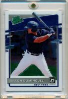 2020 Donruss Optic Rated Prospect Jasson Dominguez RC NY Yankees #RP-11