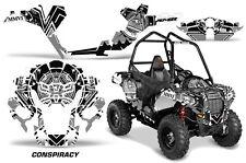 "Polaris Sportsman ""ACE"" ATV Graphic Kit Wrap Quad Accessories Decals CNSPRCY BLK"