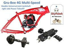 10G Multi-Speed Kit for GruBee 4G 1B transmission and 4 stroke bicycle engine