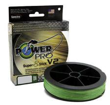 Power Pro Super8Slick V2 Aqua Green Braided Line EBT Coated 8-Carrier Superline