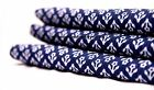 1/2.5/5 Yd Indian Hand Block Print Fabric 100 % Cotton Blue Floral Print Fabric