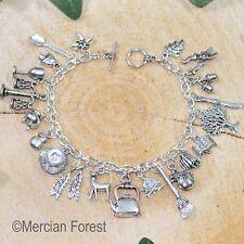 The Kitchen Witch Bracelet - Pagan Charm Jewellery Witchcraft Healer Kitchen