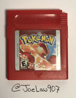 Pokemon Red Version (Nintendo Game Boy, 1998) TESTED! AUTHENTIC! 🔥